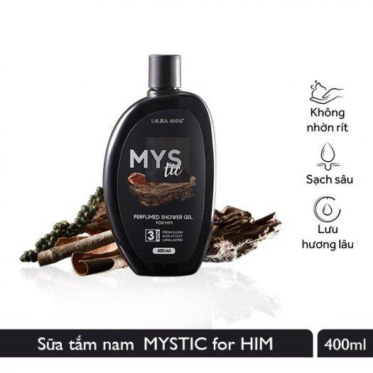 Sữa Tắm Nước Hoa Laura Anne Mystic For Him 400ml1