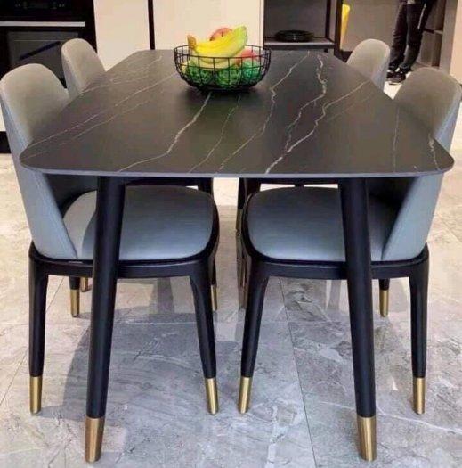 Bộ bàn ghế ăn nhập 4 ghế 1 bàn0