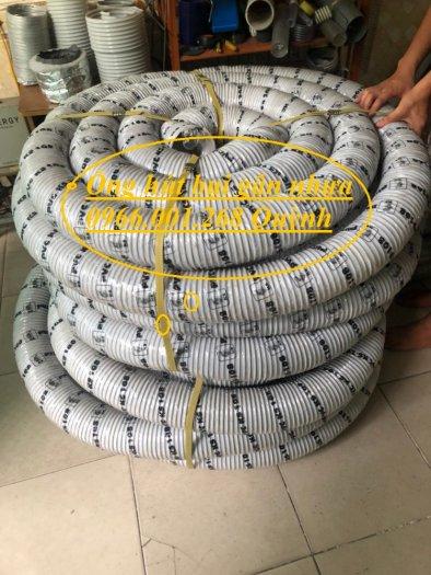 Ống hút bụi gân nhựa, ống ruột gà hút bụi phi 100mm, cuộn dài 30m hàng sẵn7