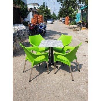 Bàn  ghế vi sa inot 304  có đủ màu sắc giá sì tại xưởng sản xuất anh khoa 4445