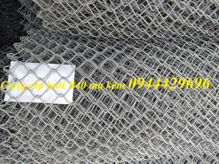 Lưới Rào B40 Mạ Kẽm , B40 Bọc Nhựa Sẵn Kho Giá Sỉ5