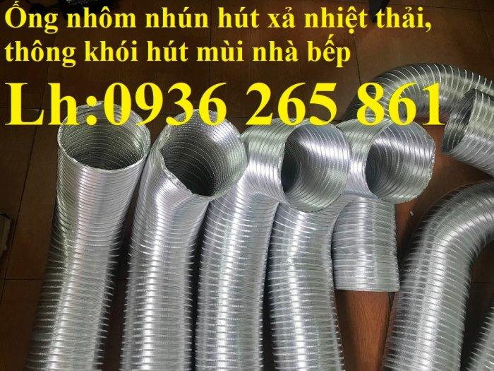 Mua ống gió nhôm nhún gắn quạt thoát hơi nóng máy sấy, máy hút mùi tại Hà Nội, Hồ Chí Minh