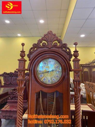 Đồng hồ hoa lan tây trụ nghệ thuật3