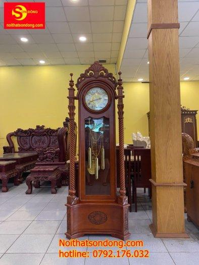 Đồng hồ hoa lan tây trụ nghệ thuật2