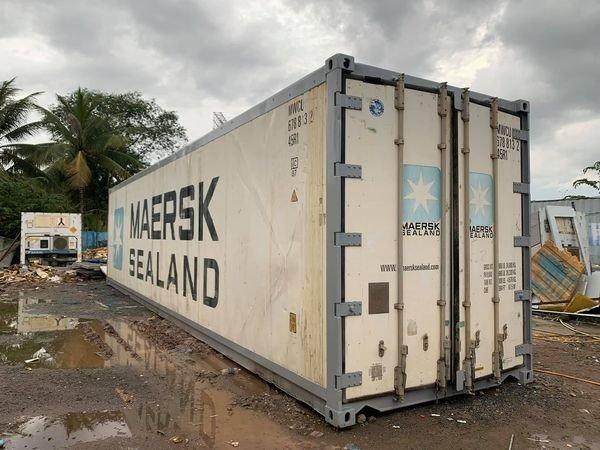 Container lạnh 40ft bảo quản hàng đông lạnh2