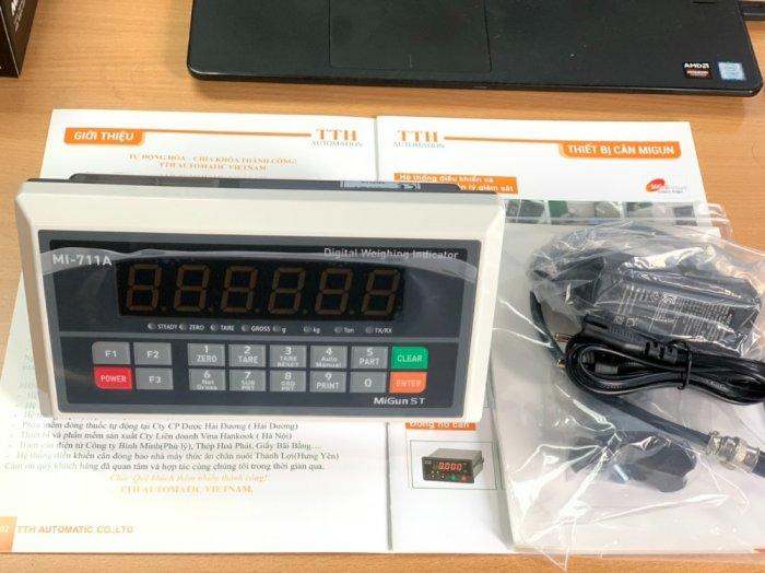 MI711A Đầu cân điện tử giá rẻ, sản xuất chính hãng Migun - Korea : 09153226924