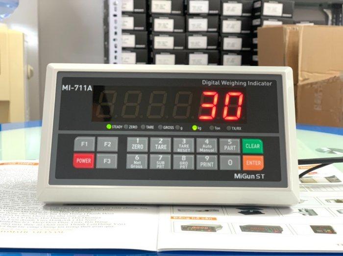 MI711A Đầu cân điện tử giá rẻ, sản xuất chính hãng Migun - Korea : 09153226922