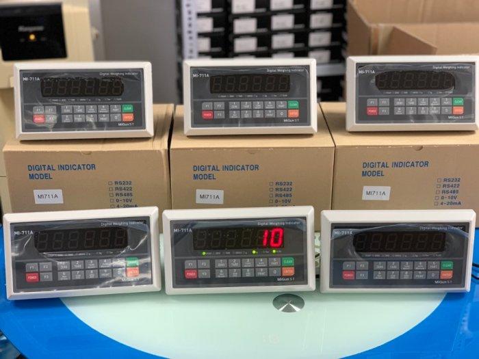 MI711A Đầu cân điện tử giá rẻ, sản xuất chính hãng Migun - Korea : 09153226921