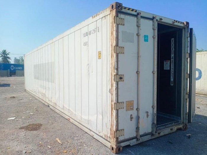 Container lạnh trữ hàng đông lạnh mùa dịch2