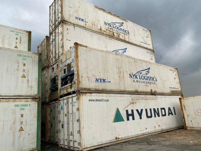 Container lạnh trữ hàng đông lạnh mùa dịch1