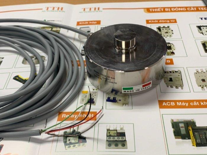 Loadcell trụ nén PS24-10 tấn, nhập khẩu chính hãng Pavone - Italy : 09153226924