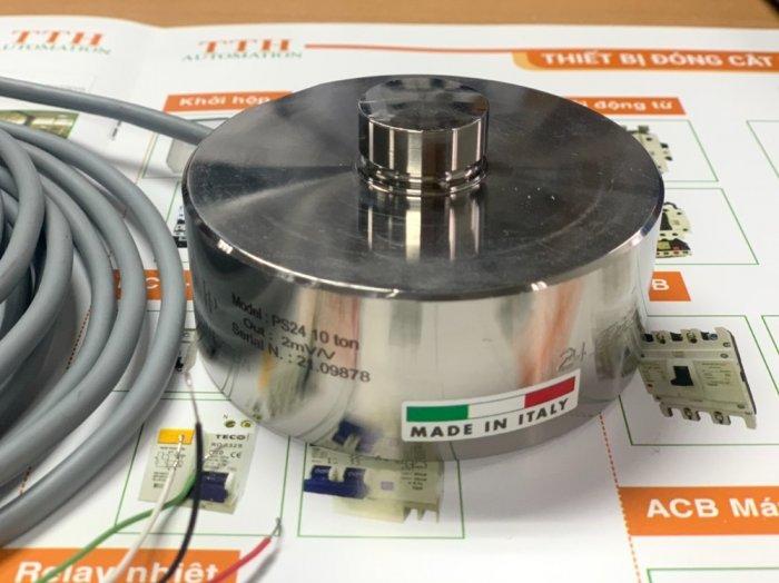 Loadcell trụ nén PS24-10 tấn, nhập khẩu chính hãng Pavone - Italy : 09153226923