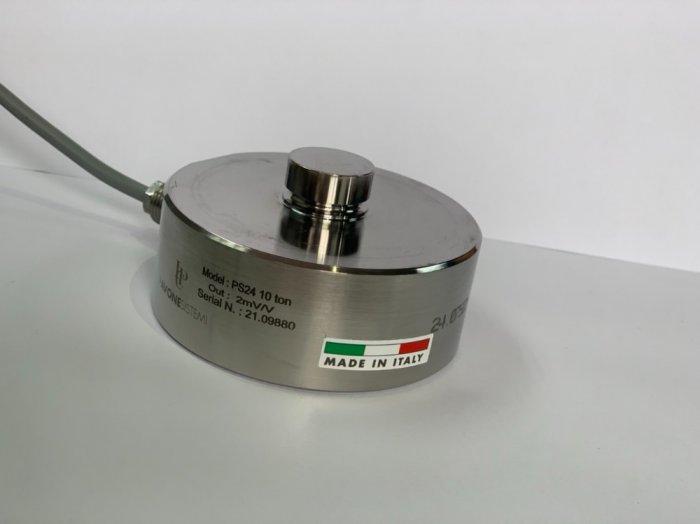 Loadcell trụ nén PS24-10 tấn, nhập khẩu chính hãng Pavone - Italy : 09153226922