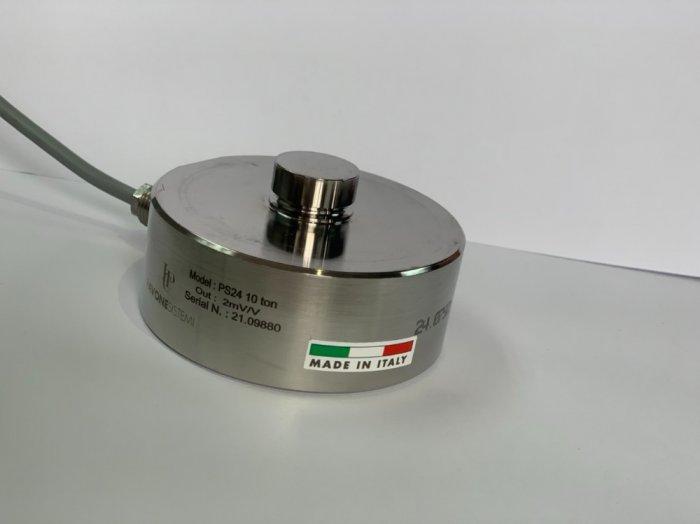 Loadcell trụ nén PS24-10 tấn, nhập khẩu chính hãng Pavone - Italy : 09153226920