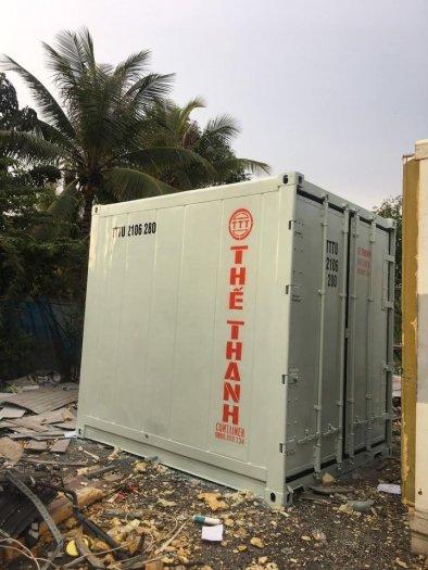 Container lạnh trữ hàng đông lạnh mùa dịch0