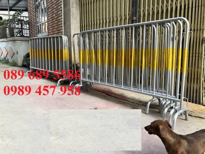 Barie 1mx2m, Hàng rào ngăn lối đi, hàng rào cách ly khu vực, hàng rào nhà xe7