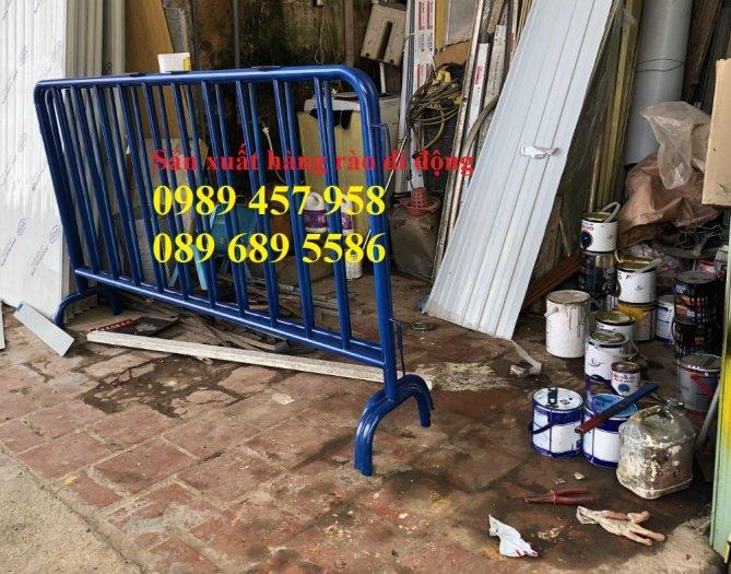 Barie 1mx2m, Hàng rào ngăn lối đi, hàng rào cách ly khu vực, hàng rào nhà xe4