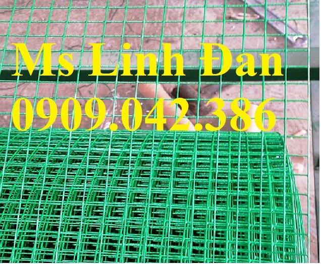Lưới thép hàn sơn tĩnh điện phi 3, lưới thép hàn sơn tĩnh điện phi 40