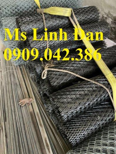 Lưới thép hình thoi có sẵn, lưới thép hình thoi dây 2,3,4 ly6