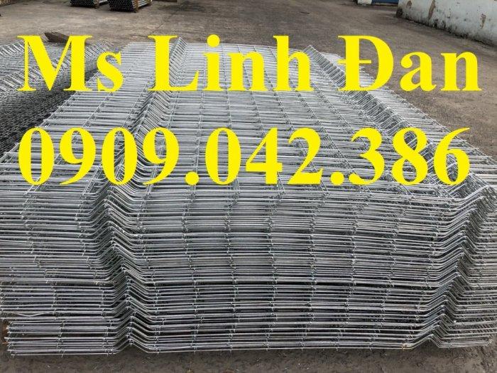 Lưới thép hàng rào mạ kẽm10