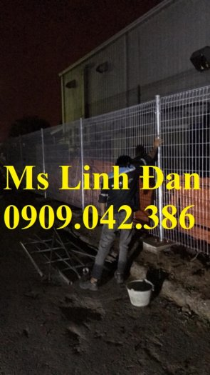 Lưới thép hàng rào mạ kẽm5