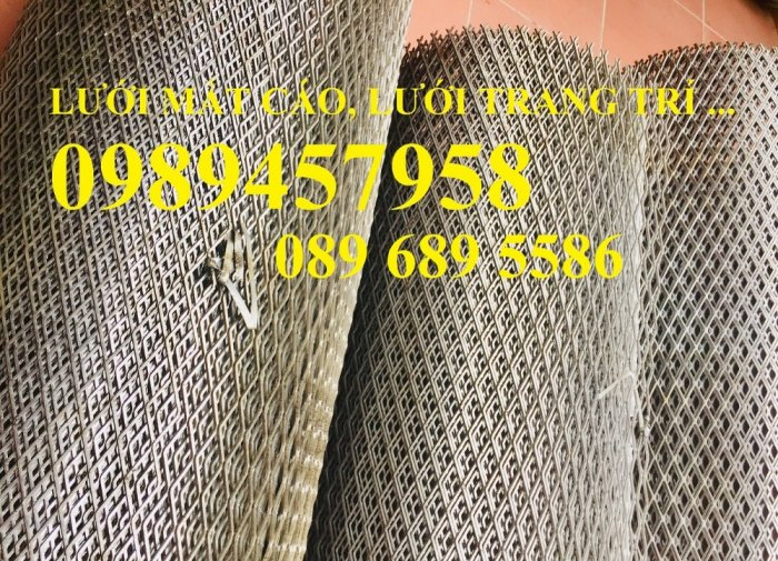 Chuyên sản xuất Lưới dập dãn, lưới hình thoi, lưới mắt cáo, xg43, xg44, xg21, xg194