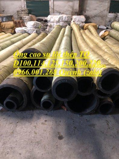 Ống cao su lõi thép hút cát, ống rồng phi 200,phi 220,phi 250,phi 273,phi 300 hàng Trung Quốc1
