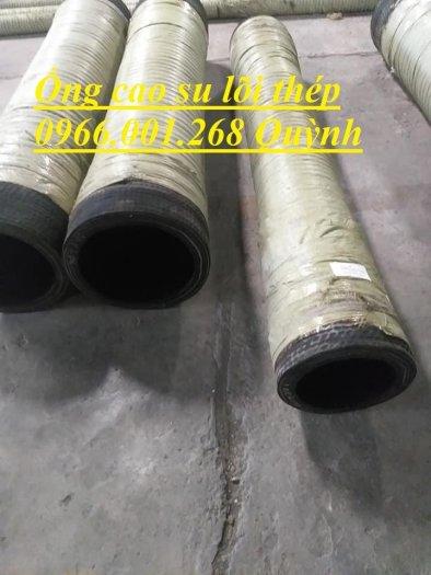 Ống rồng, ống cao su lõi thép bơm bê tông phi 114 dài 6m, 7m, 8m hàng Trung Quốc , luôn sẵn giá tốt9
