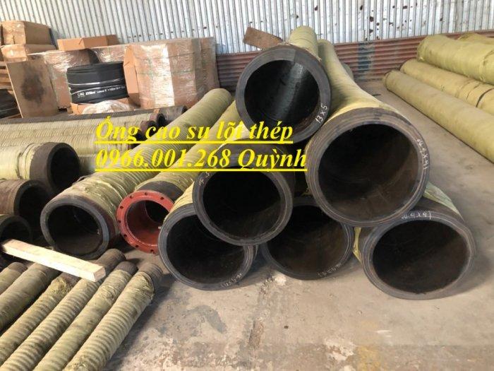 Ống rồng, ống cao su lõi thép bơm bê tông phi 114 dài 6m, 7m, 8m hàng Trung Quốc , luôn sẵn giá tốt6
