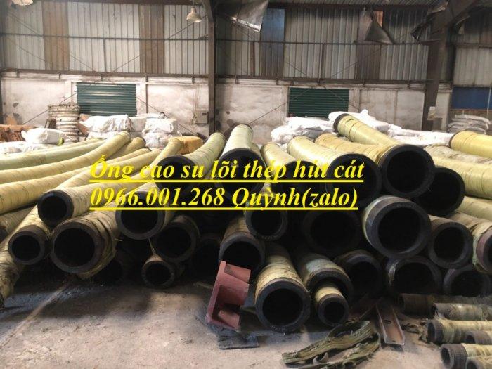 Ống rồng, ống cao su lõi thép bơm bê tông phi 114 dài 6m, 7m, 8m hàng Trung Quốc , luôn sẵn giá tốt2
