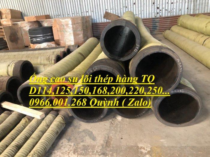 Ống rồng, ống cao su lõi thép bơm bê tông phi 114 dài 6m, 7m, 8m hàng Trung Quốc , luôn sẵn giá tốt0