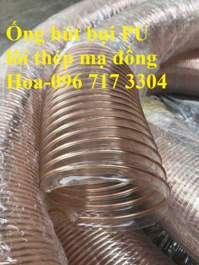 Ống hút bụi PU lõi thép mạ đồng phi 76mm chất lượng cao4