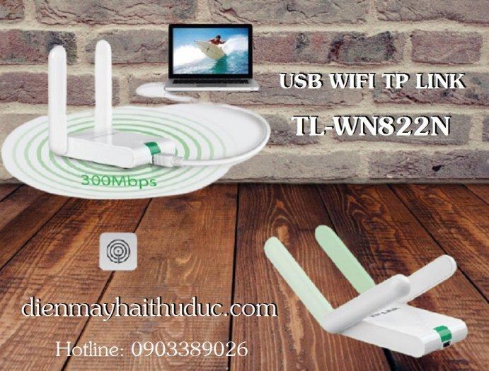 USB thu Wifi TP-Link TL-WN822N tốc dộ chuẩn 300Mbps3