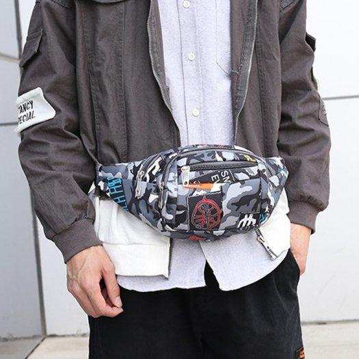 Túi đeo chéo, túi bao tử, túi đeo hông nam nữ thời trang5