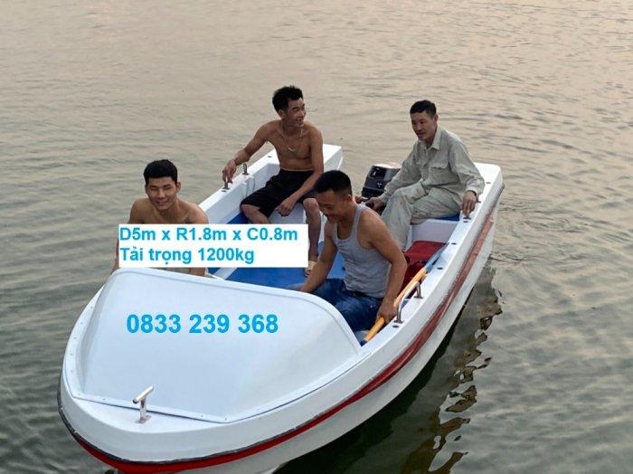 Cano chở được 10 người, cứu hộ, vận tải hàng hoá đến 1200kg1