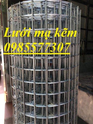 Lưới thép hàn mạ kẽm D3 a50 x 50, D4 a50x50, lưới làm giàn lan,cây cảnh1