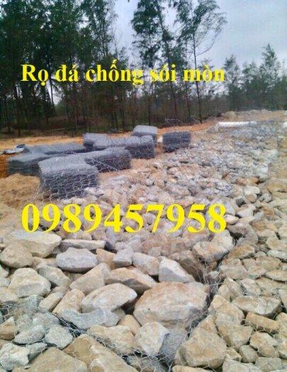 Báo giá Rọ đá 2x1x1 mạ kẽm và Rọ đá bọc nhựa 2x1x12