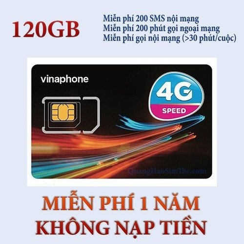 Sim 4G Vinaphone0