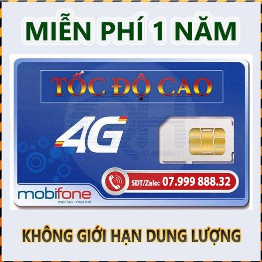 Sim 4G Mobifone0