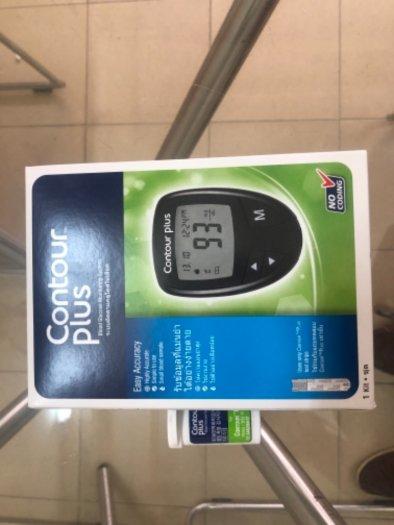 Máy đo đường huyết Contour Plus hàng full box mới 100%2