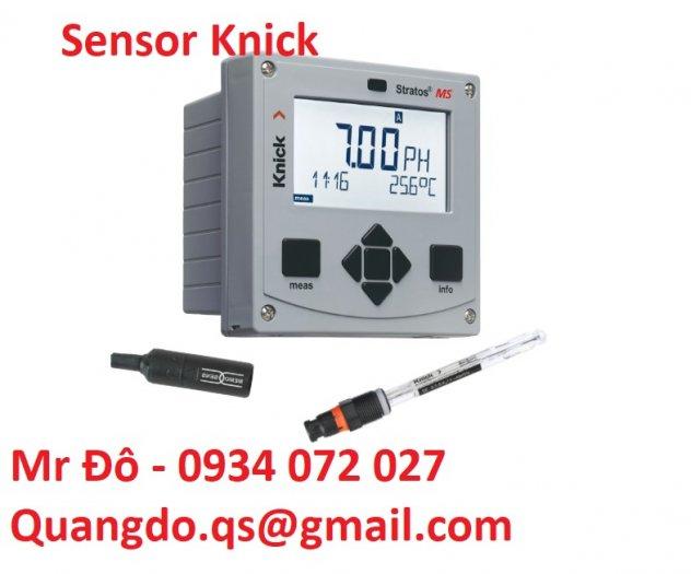 Nhà phân phối đầu dò Knick và máy đo độ PH Knick5