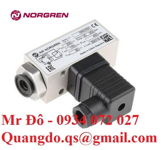 Norgren solenoid   Van điện từ chính hãng Norgren8