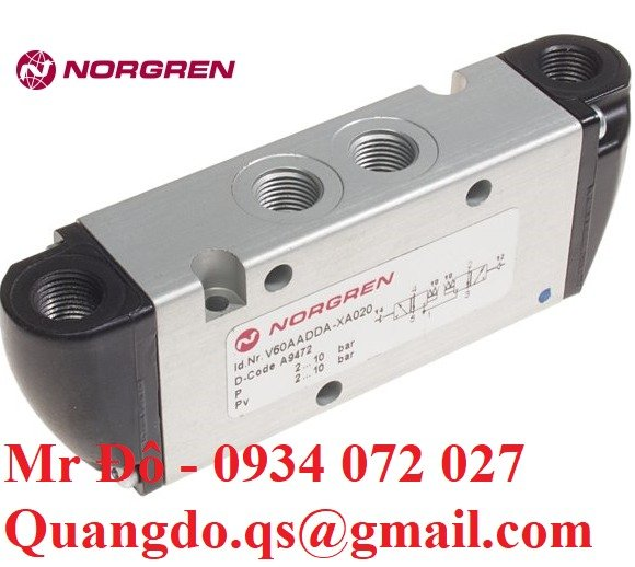 Norgren solenoid   Van điện từ chính hãng Norgren7