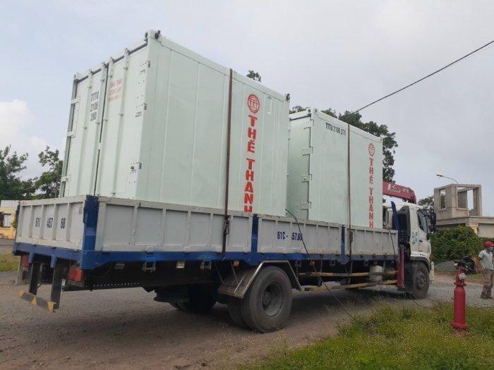 Thùng container lạnh mini 16m32