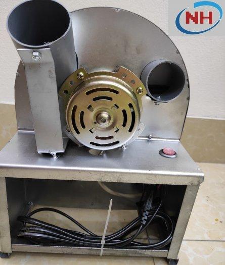 [ CHẠY ĐIỆN ] Máy thái hành tỏi, củ quả đa năng chạy mô tơ điện siêu nhanh1