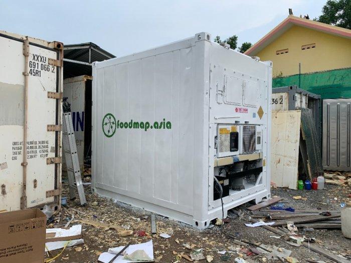 Container lạnh 10feet tại TP HCM (kho lạnh mini)1