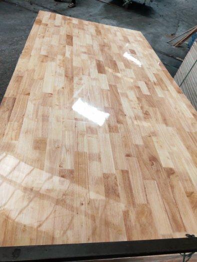 Ván ghép thanh 12mm gỗ cao su đẹp cho nội thất0