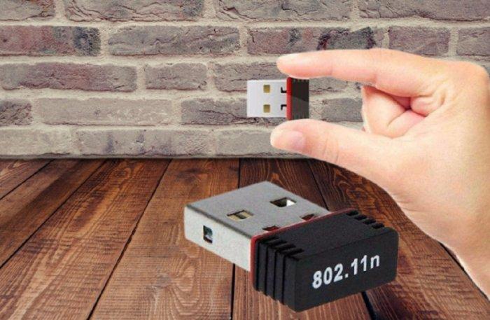 USB 2.0 Wireless Mini 802.11N giá 80K xài cho PC, Laptop đều OK1