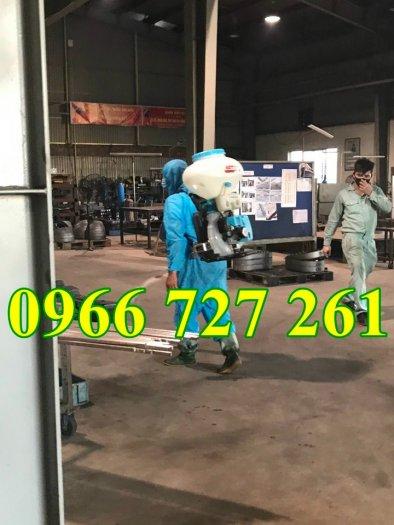 Máy phun thuốc khử trùng, phun thuốc xạ phân phòng dịch KCT 3WF-3A-431