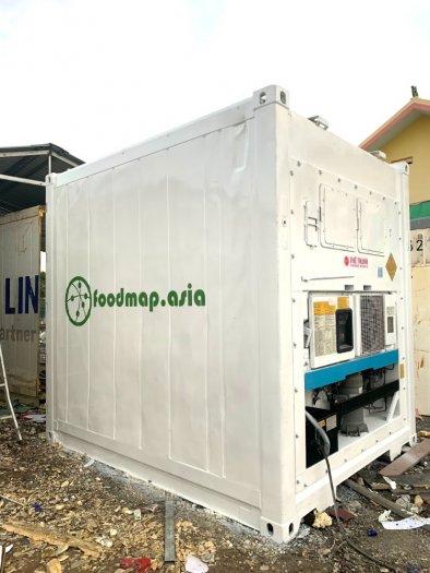 Container lạnh làm kho lạnh trữ đông 16m32